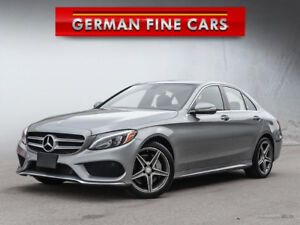 *** 2015 MERCEDES BENZ C300 4MATIC *** AMG SPORT PACKAGE***