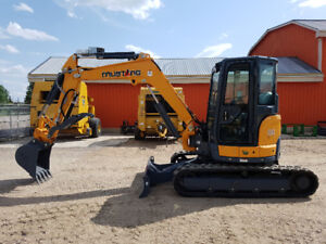 New Mustang 450Z NXT2 Excavator - Low Low Price!!