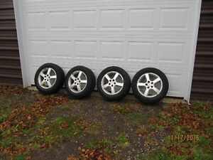 "P225/60R17 Ice Radials.17"" tires and rims St. John's Newfoundland image 1"