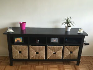 Ikea Display/ Storage Table with Baskets
