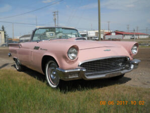 1957 Ford Thunderbird Rare Dusk Rose color