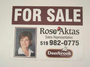 Real Estate / Info Signs by Flag & Sign Depot