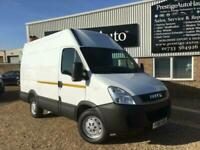 2012 61 IVECO DAILY 35S11 2.3 TURBO DIESEL MWB HI ROOF VAN NEW CLUTCH RACKING