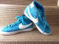Nike Womens Blazer High LTHR High Top Trainers Sneakers Shoes u.k size 6