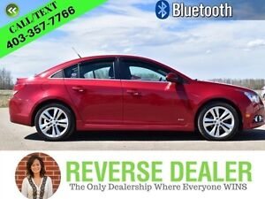 2012 Chevrolet Cruze LT w/2LT  Accident free, Manual, Winter and