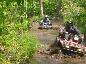 COTTAGE on ATV TRAILS for weekend rental
