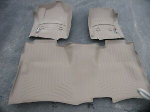 2016 GM or Chev Weather Tech floor mats