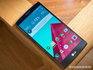ALMOST BRAND NEW LG G4 + UNLOCKED + WARRANTY (1 year) Cambridge Kitchener Area image 1