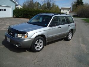 2004 SUBARU FORESTER AWD 2.5 XS $3500 TAX IN CHANGED INTO UR NAM