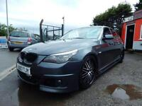 2007 BMW 5 Series 530d M Sport 4dr Step Auto m5 replica,full service history ...