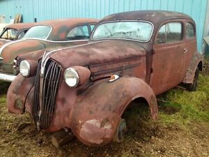 1937 plymouth 2 Dr