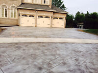 Stamped, Patterned, Concrete Driveway, Side walk (Spring offer)