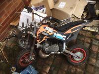 Spares or repair mini motos