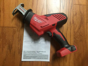 Milwaukee M18 Hackzall Reciprocating Saw NEW Scie Passe-Partout