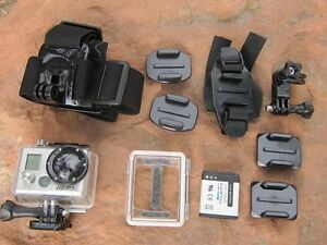 GoPro hero 2 with lots of accessories