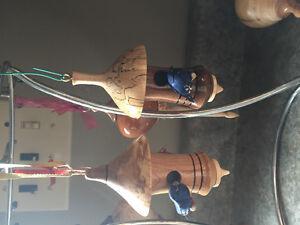 Hand turned Xmas wood ornaments. Kitchener / Waterloo Kitchener Area image 5
