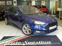 2015 Ford Focus 2.0 TDCi ST-2 (s/s) 5dr Diesel blue Manual
