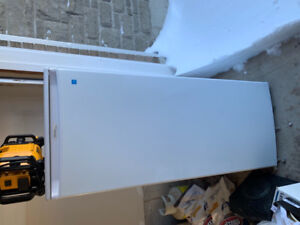 Almost new danby upright freezer, energy saver