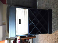12 Bottle Wine Rack with Drawer