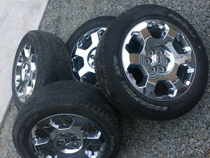 """20"""" Ford f-150 Rims with tpms sensors"""
