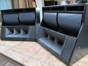 B & C Theater Speakers, Made in Italy, very good Sound Quality
