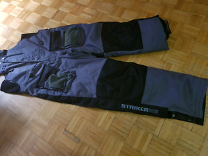 Ice fishing float bibs STRIKER ICE and ice hut