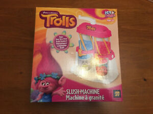 Trolls Icy Delights Slush Machine - Used in Box