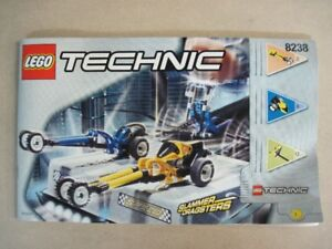 Lego, Technic, Duelling Dragsters, set 8238,  100% complet
