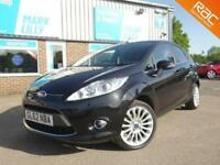 2012 Ford Fiesta 1.4 ( 96ps ) automatic Titanium BLACK ONLY 44,000 MILES