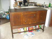 Antique Buffet Sideboard Hutch Console Annapolis Valley Nova Scotia Preview