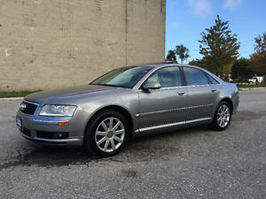 2005 Audi A8 Quattro Clean Carproof/LOW KM/Certified & E-Tested