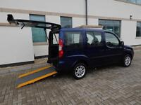 2010 60 PlateFiat Doblo 1.4 Dynamic Wheelchair Accessible Vehicle ONLY 14,241 M