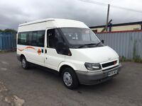 Ford transit 9 seat minibus