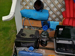 Camping and Hiking Gear and Yard Games