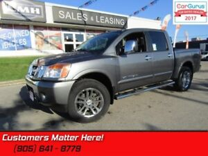 2015 Nissan Titan SL  4X4, CREW, NAV, ROOF, CAM, LEATHER SEATS,