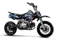 STOMP JUICEBOX 110 PIT BIKE, NEW, KIDS MOTORBIKE, CHILDS MOTORBIKE, KIDS DIRT BIKE, MOTOR BIKE.