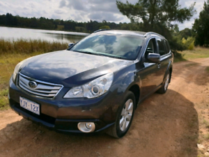 2011 Subaru Outback B5A 2.5i AWD SUV Grey automatic Wagon