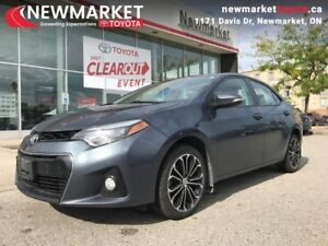2014 Toyota Corolla S  - one owner - local - trade-in - $51.37 /