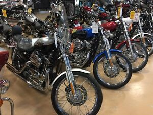 Three Harley Davidsons for under $5000, Eldridge's