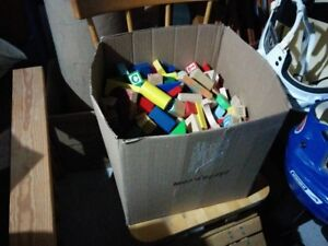 Box of Blocks FOR SALE!