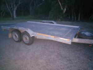 Unliscenced ex u haul car trailer for sale   Trailers   Gumtree Australia
