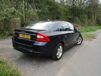 VOLVO S80 D SE LUX, Blue, Auto, Diesel, 2008 11 MOT TIMING BELT 93K MILES