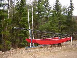 16 ft Hobie Cat catamaran