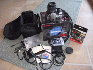 Canon Rebel EOS Digital SLR camera 300 D