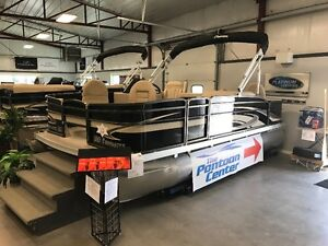2017 Palm Beach 180 Fishmaster Pontoon with 40 Hp Evinrude
