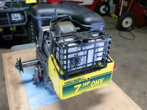 7 HP OHV Tecumseh SNOW KING snowblower motor runs great