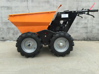Power wheel barrel save thousands in labor'