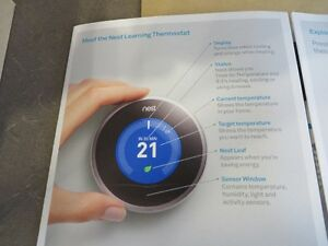 NEST Model 02A Thermostat,  Brand New for sale