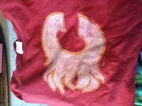 Calgary flames retro t-shirt
