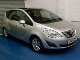 Vauxhall Meriva 1.4 16v ( 100ps ) ( a/c ) 2011MY SE Only 62K!